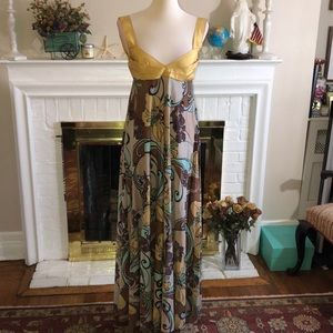 🌹Missoni Valentino Metallic floral gown Sz 6